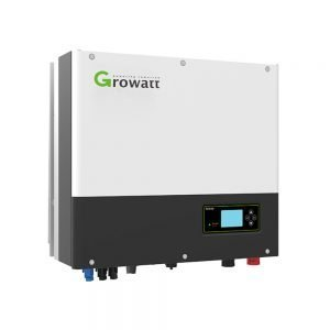 Growatt 5kW Single Phase Solar Inverter Dual MPPT IP65 AC Battery Ready Hybrid With EPS & WIFI Capability