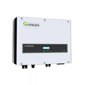 Growatt 8kw Three Phase Solar Inverter With Dual MPPT IP65 With WIFI Capability