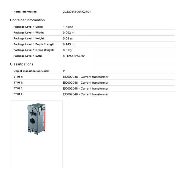 ABB 100 Amp 2