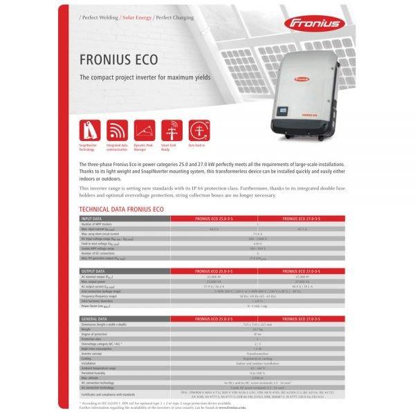 Fronius Eco 1
