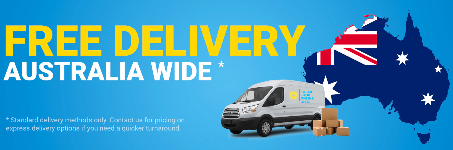 free solar delivery