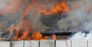 Solar Panel Precautionary Measures During and After a Bushfire