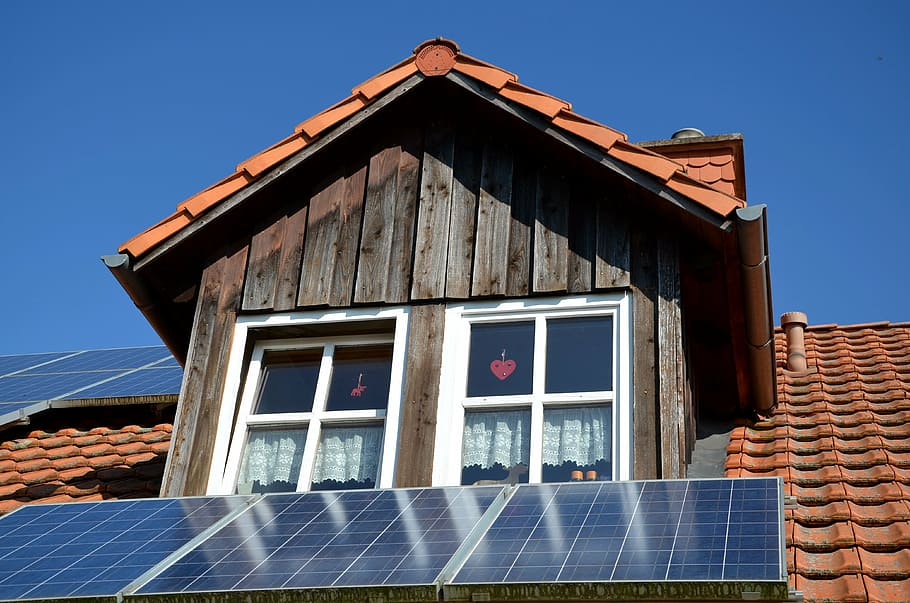 photovoltaic home roof