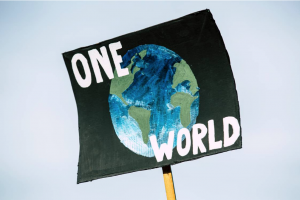 One world flag