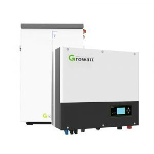 Growatt 6.5kW Lithium Battery – GBLI6531 and Growatt SPH5000 Inverter