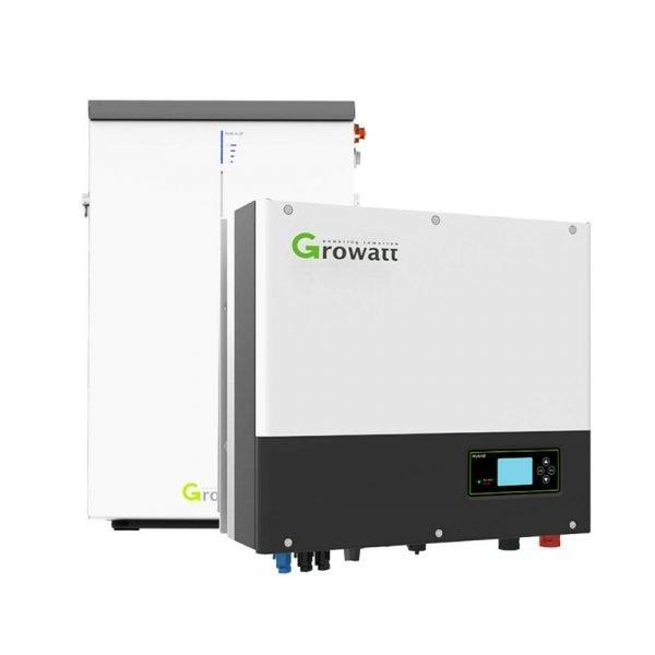 Growatt 6.5kW Lithium Battery - GBLI6531 and Growatt SPH5000 Inverter